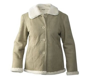 Picture of Amenda Sheepskin Womens Jacket by Wild Goose JDF-AMD-D
